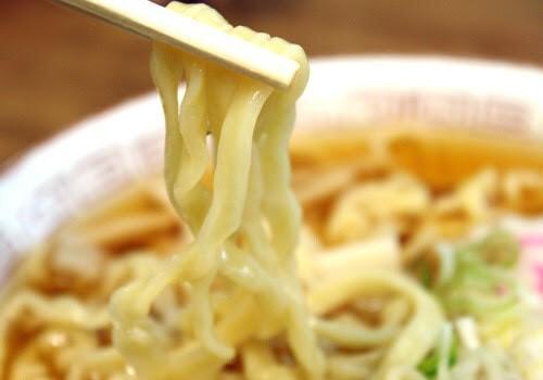 喜多方ラーメン 麺