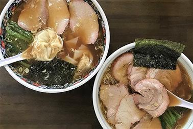 福岛当地的拉面!好吃的「白河拉面」这里是有名的店!