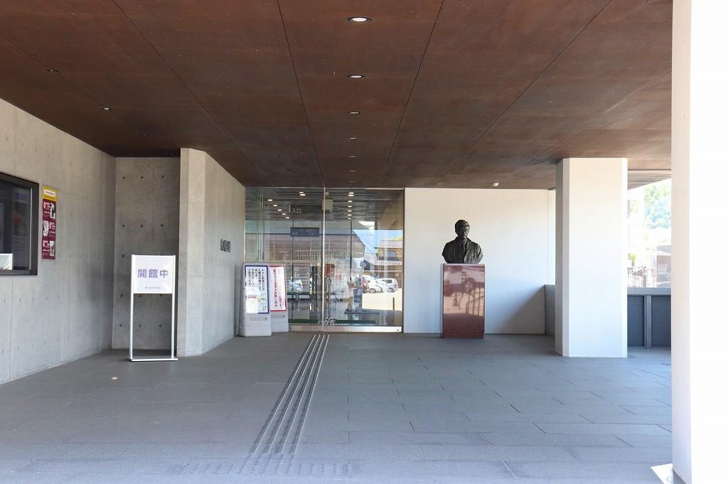 野口英世記念館入口